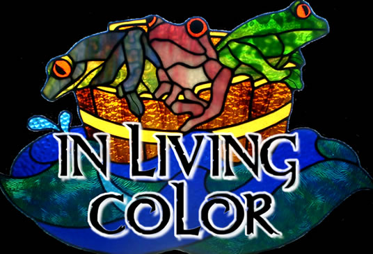 In Living Color Custom Hand-Crafted Stained Glass Art and Classes